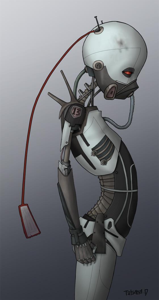 插畫 機器人 創意 設計 欣賞